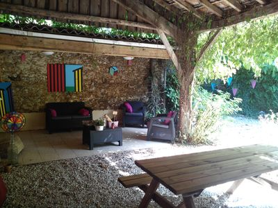 Photo for Beautiful House sleeps 12 in the heart of the Bassin d'Arcachon