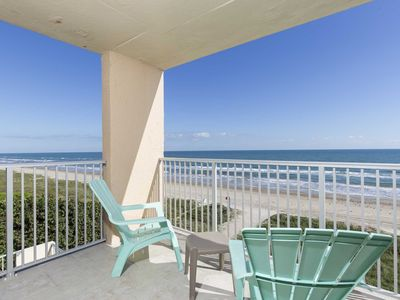 Photo for Inverness 400 - Luxurious Beachfront Corner Condo, Wrap-a-Round Balcony, Fabulous Views, Pool & Hot Tub