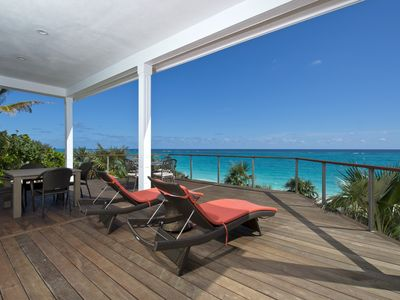 Photo for New and Luxurious Beachfront House W/ Private Pool On Prestigious Banks Road