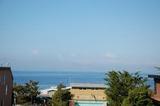 Ocean view - Those power lines will be removed this summer, making the ocean view even better.