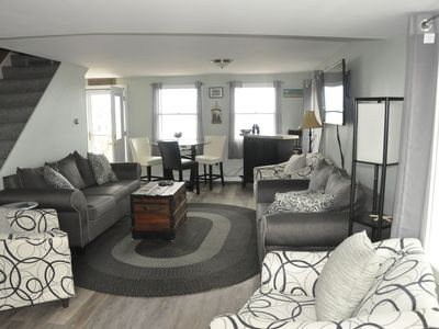 Photo for SCITUATE OCEANFRONT, 5 Bedroom- Near  Lighthouse. Walk to Harbor