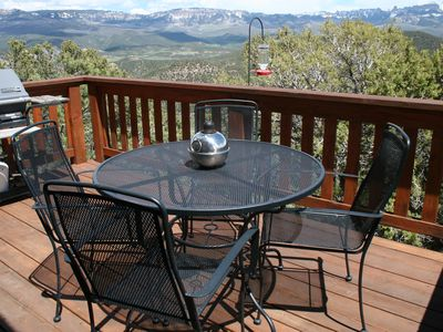 Photo for Most Spectacular View San Juan, Cimmaron, & Ouray Valley - Cozy, Secluded Cabin