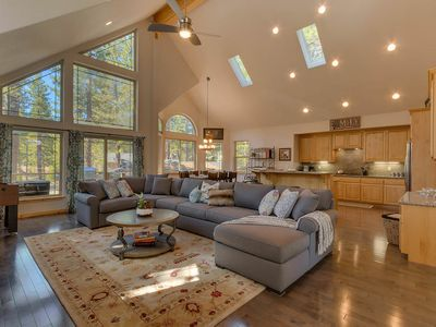 Photo for Spacious House w/ Hot Tub, WiFi, Foosball, Private Washer and Dryer - Sugar Pine Lodge