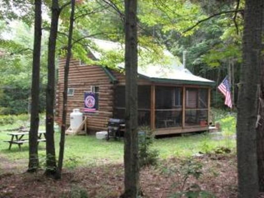 living cottage ny view catskills room coal cabin cabins phoenicia inc vacation rentals red