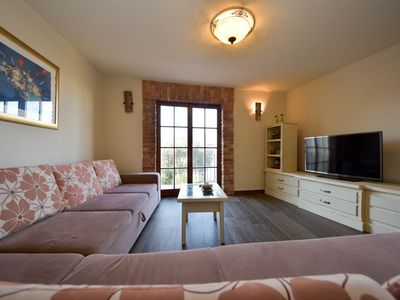 Photo for Nice apartment for 8 guests with A/C, WIFI, private pool, TV and balcony