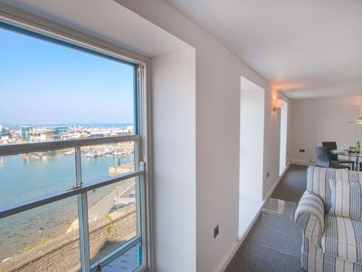 Photo for Midships Brixham - luxury modern apartment with spectacular sea views