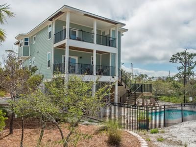 Photo for Large 5 Bedroom, Gulf & Bay View Home w/ Elevator & Private Pool