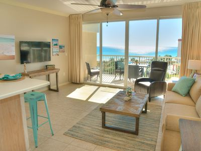 Photo for Gulf 513-1 BR + Bunk/2 Bath-sleeps 6 Beautiful Views of the Beach and Pool!!!