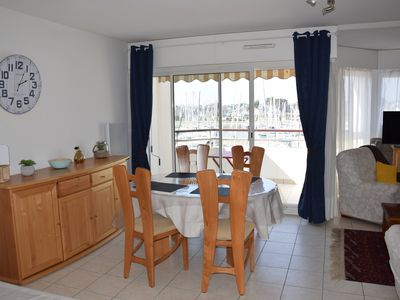 Photo for T2 beautiful apartment of 60 m2 in residence sea and harbor