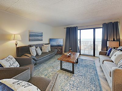 Photo for New Listing! Mariner II Beach Condo w/ Ocean Views & Private Balcony