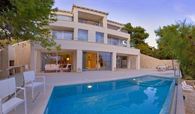 Photo for 4BR Seafront Villa with pool