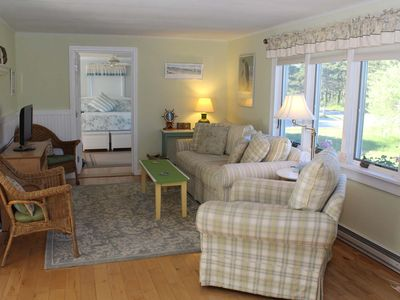 Photo for Light and Bright 3BD--A/C, Outdoor Shower, Walk to Cold Storage Beach