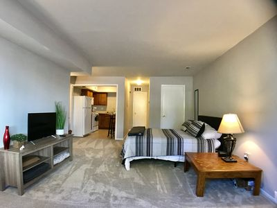 Photo for Downtown Studio Apartment - Quiet, Central, and Convenient!