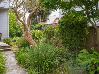 Photo for A cottage nestled in the heart of Santa Cruz in the coveted Seabright Beach!