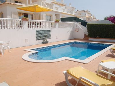 Photo for ONLY 10% DEPT lovely  family property, air con, wi-fi, close center of Albufeira