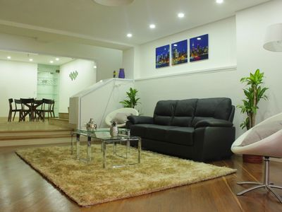 Photo for Spacious and quiet 3BRApt in Poblado
