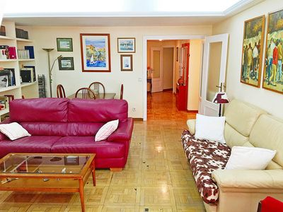 Photo for 1507 Sq. Ft. Apartment With Wifi Very Close To Retiro Park