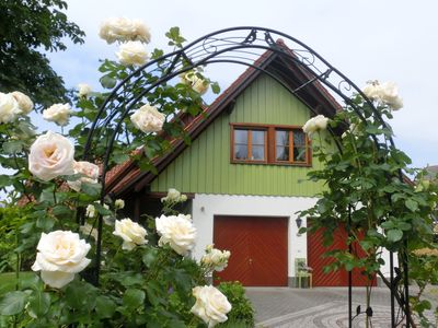 """Photo for Charming Attic Apartment """"Ferienwohnung Henne"""" near Lake Constance with Wi-Fi, Balcony & Garden; Parking Available"""