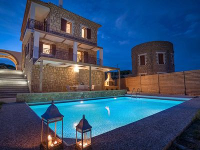 Photo for Villa Almyra -  This modern Villa includes a private pool, a balcony & WIFI