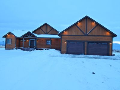 Photo for Spacious 6 bed 3 bath new home on 10 acres!
