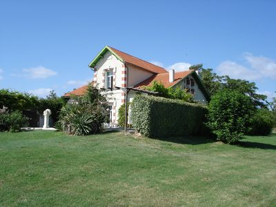 Photo for French charming, pleasant, large pool, detached, large garden