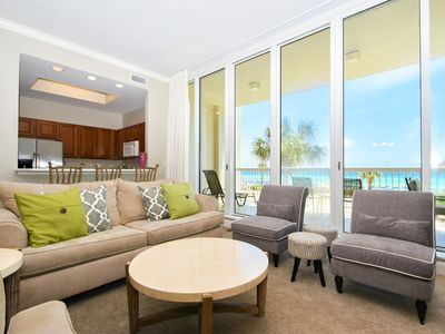 Photo for Beach-Front Lobby Level Condo: Beach View from all bedrooms! FREE Beach Chairs😎