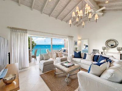 Photo for * Amazing Value *, Large Beachfront Luxury Villa with Maid/Cook