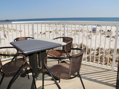 Photo for UPGRADED with Gulf Front Views Great Price 2 BR 2 BA. Sugar Sands ROP 201