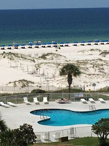 Photo for NEW LISTING- Great Ocean Views from 5 floors up at Gulf Shores Plantation #5416