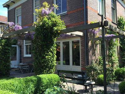 Photo for Beautiful, light house with large garden close to center, beach and Amsterdam