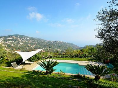 Photo for Villa Gitana: A welcoming two-story villa which faces the sun and the sea, with Free WI-FI.
