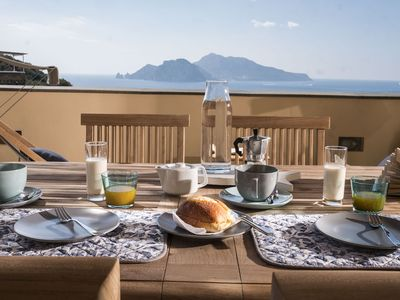 Photo for Holiday house near the sea in the beautiful setting of the Sorrento Peninsula