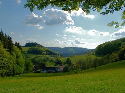 Photo for Very quiet and cosy apartment in the Sauerland region with marvellous view