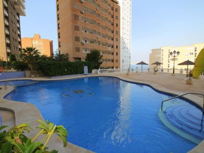 Photo for 1BR Apartment Vacation Rental in Benidorm, Alicante