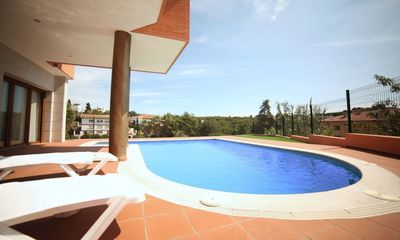 Photo for Villa - 4 Bedrooms with Pool and Sea views (young people group not allowed) - 104833