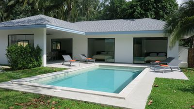 Photo for 2 BEDROOMS 2 BATHROOMS PRIVATE POOL 1 KM FROM THE SEA