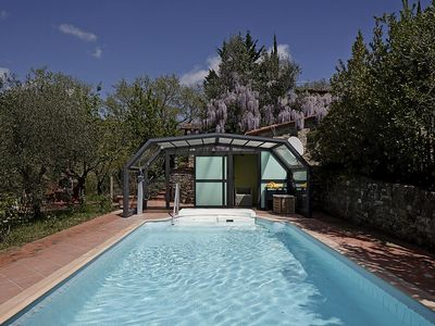 Photo for Villa Fadia: A characteristic and welcoming two-story villa surrounded by vineyards and olive groves, with Free WI-FI.