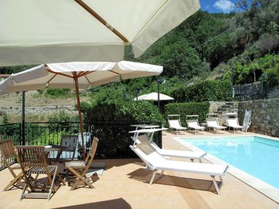 Photo for 2 bedroom Apartment, sleeps 6 with Pool, Air Con, FREE WiFi and Walk to Shops
