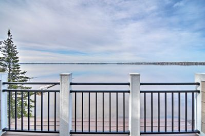 Located on Lake Mitchell, this Cadillac home can't be beat!