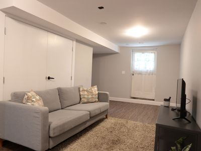 Photo for Bright, Spacious, immaculate, garden level suite.