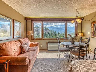 Photo for Ski-in/out studio condo w/ beautiful views, shared pools, gym, & tennis court