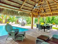 Pool & Patio are over the top while inside is comfy and inviting!