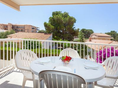 Photo for Cosy apartment for 6 guests with TV, balcony and pets allowed