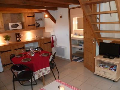Photo for COZY INDIVIDUAL CHALET WITH GARDEN FOR 4 pers GRAND MASSIF