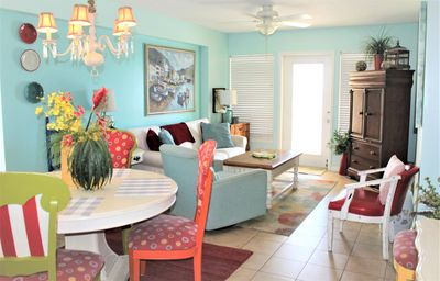 Photo for Popular Colorful Island Retreat!! Great Views and Excellent Location...Unit #481