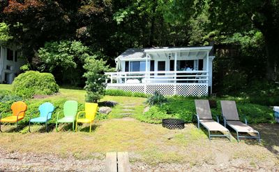 Photo for Dew Point - Sweet little budget-friendly vintage cottage - secluded location!