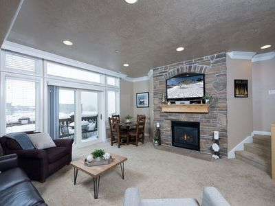 Photo for Luxury 2 Bedroom Snowbasin Vacation Rental on Pineview Reservoir Shores
