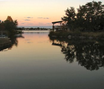 Photo for Peaceful Lake Lbj Waterfront - Two-Story Home with Boat Dock