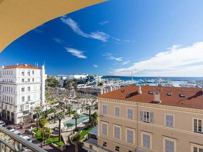 Photo for An exceptionally high quaility apartment overlooking the Palais des Festivals