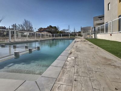 Photo for villa for 6 people in a private residence with heated swimming pool. V3